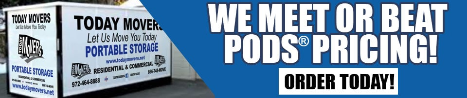 We will meet or beat PODS Pricing!